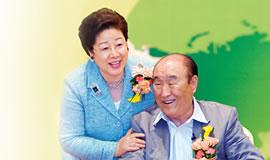 世界平和統一家庭連合創始者:文鮮明・韓鶴子ご夫妻