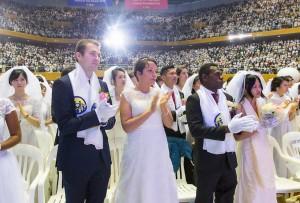 世界平和統一家庭連合 天地人真の父母天宙祝福式