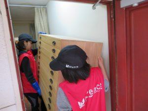家庭連合平和ボランティア隊UPeace・熊本被災地ボランティアの様子