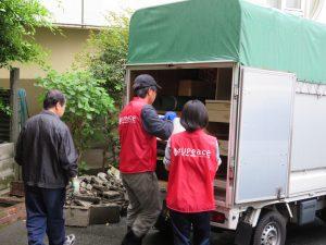 家庭連合平和ボランティア隊UPeace・引っ越しの手伝い