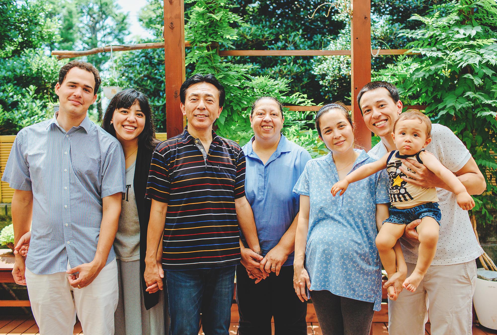秋山家庭の写真